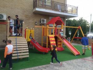 Отель Бавария Витязево - детская площадка